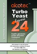 Дрожжи Alcotec 24 Turbo Yeast, упак 205 гр.