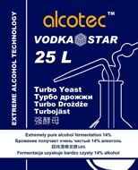 Дрожжи Alcotec VodkaStar Turbo, упак 66 гр.